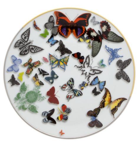 Vista Alegre Christian Lacroix Butterfly Parade Dessert Plate