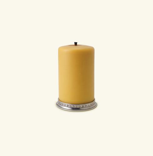 Match Pewter 4 Pillar Candle Base 1118