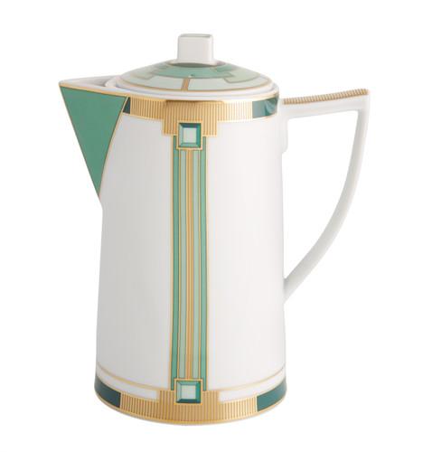 Vista Alegre Emerald Coffee Pot
