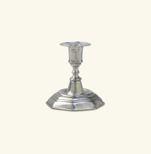 Match Pewter Genoa Candlestick Low a212.0