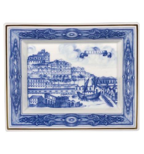 Vista Alegre Azulejos Lisboa Large Rectangular Tray