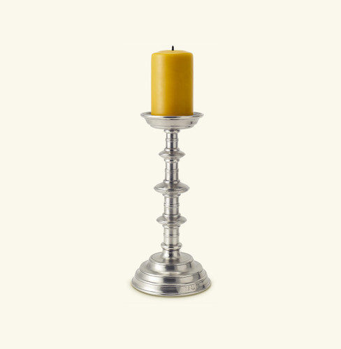 Match Pewter Castello Pillar Candlestick a506.0