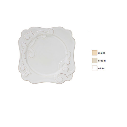 Casafina Arabesque Square Salad Plate Set of 4