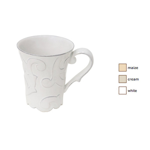 Casafina Arabesque Coffee Mug Set of 4