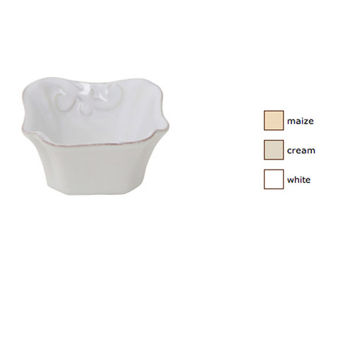 Casafina Arabesque Square Ramekin Set of 4