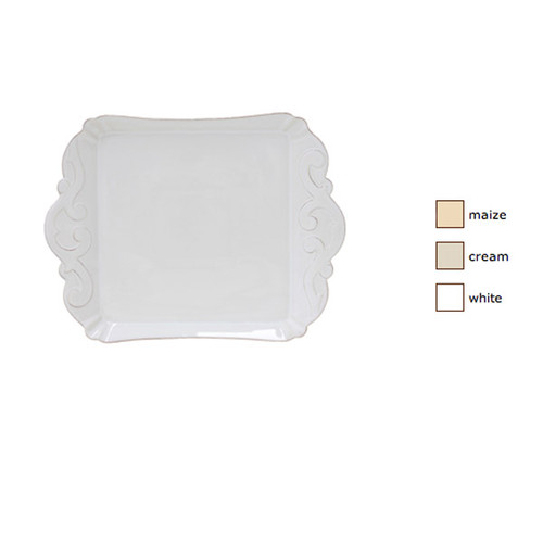 Casafina Arabesque Small Square Tray Set of 2