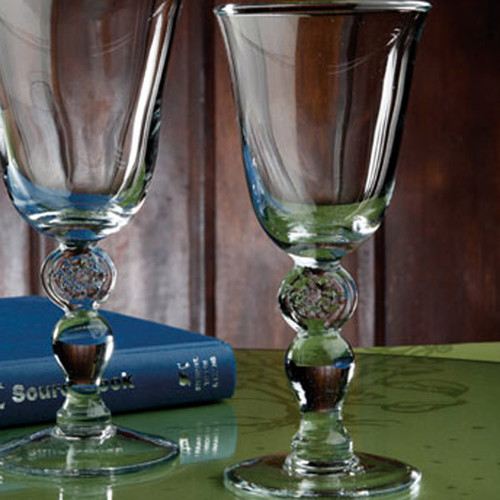 Casafina Glassware Tulip Wine Stem Meridian Set of 6