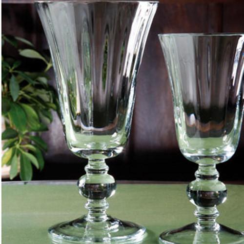 Casafina Glassware Water Stem Tulip Optic Set of 6