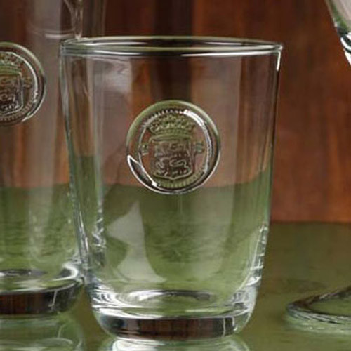 Casafina Glassware Double Old Fashion Forum Set of 6