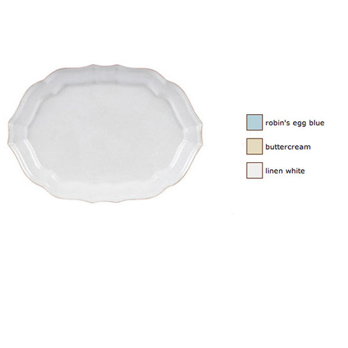 Casafina Impressions Oval Platter