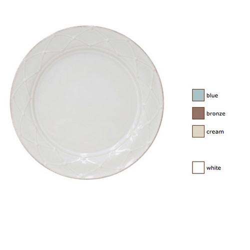 Casafina Meridian Dinner Plate Decorated Set of 4