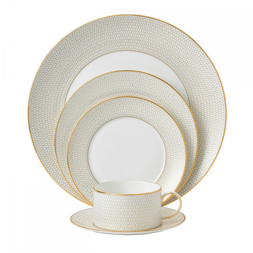 Wedgwood Arris Five 5 Piece Place Setting