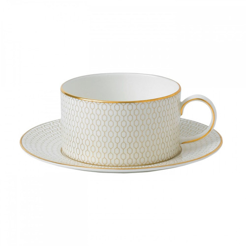 Wedgwood Arris Teacup and Saucer Set