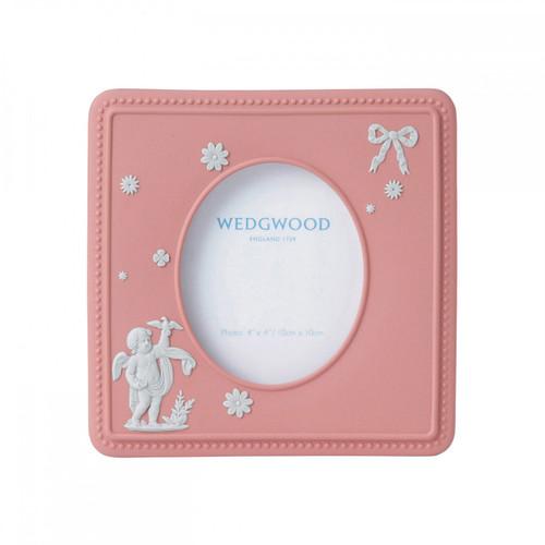 Wedgwood Jasperware Picture Frame Classic Pink 5 X 7 Inch Mpn