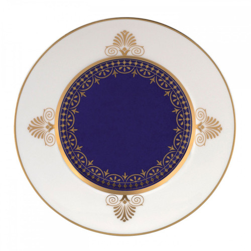 Wedgwood Anthemion Blue Bread and Butter Plate 6 Inch