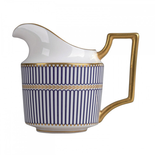 Wedgwood Anthemion Blue Creamer L/S
