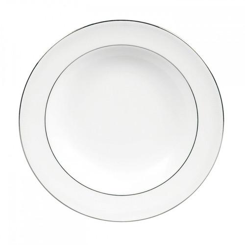 Vera Wang Blanc Sur Blanc Rim Soup Plate 9 Inch