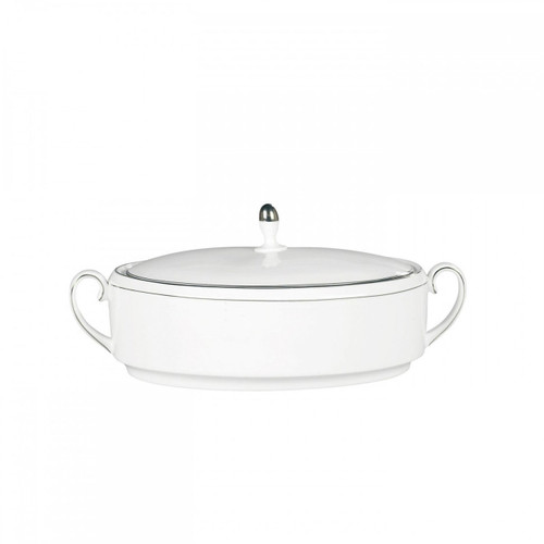 Vera Wang Blanc Sur Blanc Covered Vegetable 1.5 Qt