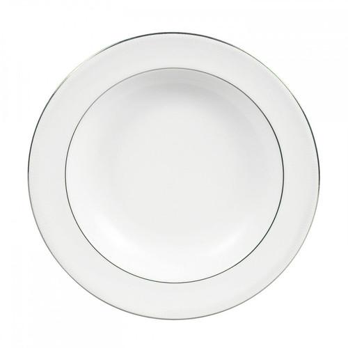 Vera Wang Blanc Sur Blanc Pasta Plate 11.25 Inch