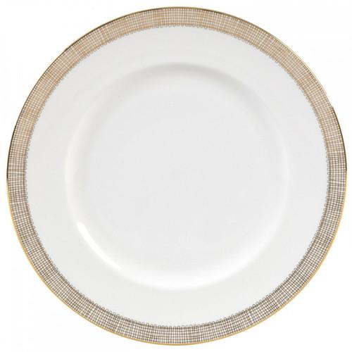 Vera Wang Gilded Weave Dinner Plate 10.75 Inch