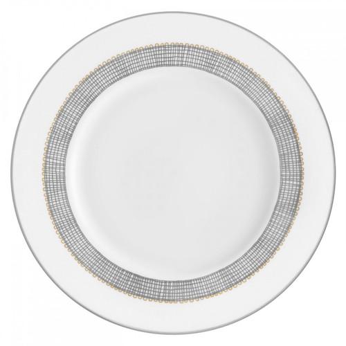 Vera Wang Gilded Weave Platinum Salad Plate 8 Inch