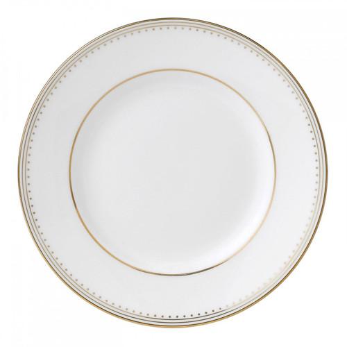 Vera Wang Golden Grosgrain Bread and Butter Plate 6 Inch