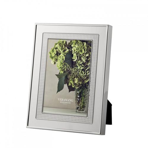 Vera Wang Blanc Sur Blanc Picture Frame 4 x 6 Inch