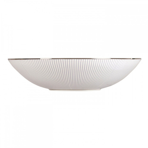 Wedgwood Jasper Conran Blue Pin Stripe Cereal Bowl 7 Inch