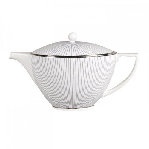 Wedgwood Jasper Conran Blue Pin Stripe Teapot 1.7 Pt