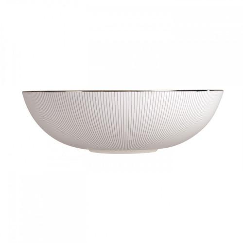 Wedgwood Jasper Conran Blue Pin Stripe Serving Bowl 12 Inch