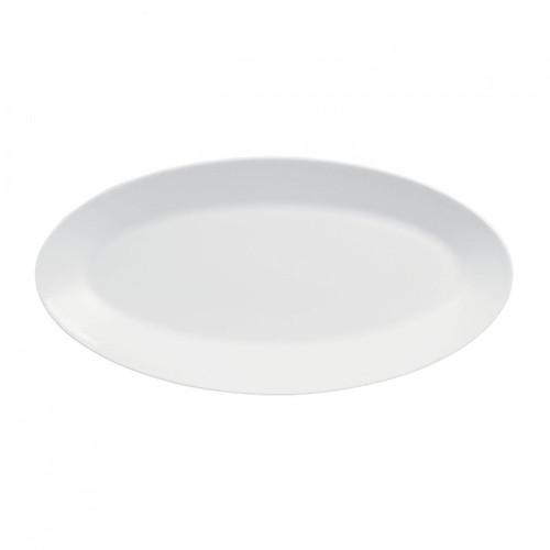 Wedgwood Jasper Conran White Bone China Oval Platter 15.5 Inch
