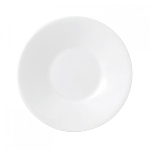 Wedgwood Jasper Conran White Bone China Espresso Saucer Plain