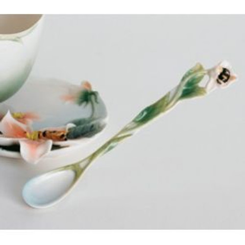 Franz Porcelain Bee Design Porcelain Spoon FZ00140