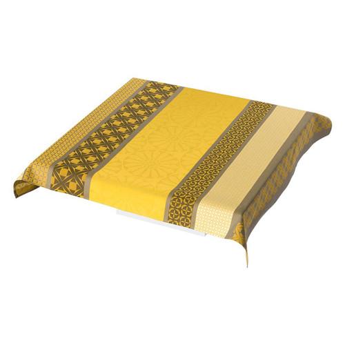 Le Jacquard Francais Bilbao Enduit Acacia Tablecloth 55 x 55