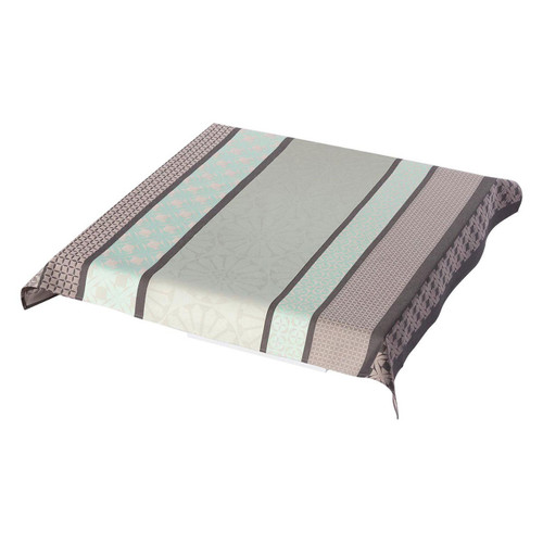 Le Jacquard Francais Bilbao Enduit Ash Grey Tablecloth 55 x 89