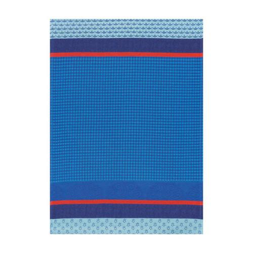 Le Jacquard Francais Hand Towel Pays De Bretagne Ocean 21 x 15 Pure Cotton