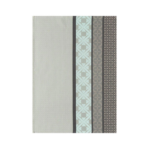 Le Jacquard Francais Tea Towel Bilbao Ash Grey 28 x 20 Pure Cotton Set of 4