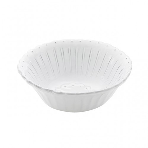 Arte Italica Bella Bianca Beaded Cereal Bowl BBS1011