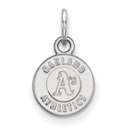 Oakland Athletics Extra Small Pendant Sterling Silver SS001ATH