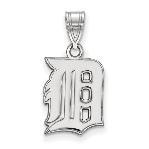 Detroit Tigers Medium Pendant Sterling Silver SS003TIG