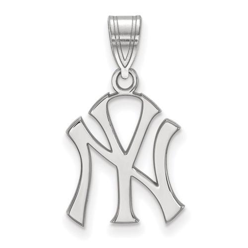 New York Yankees Medium Pendant Sterling Silver SS003YAN