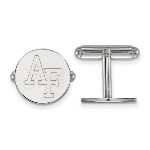 United States Air Force Academy Cuff Link Sterling Silver SS010USA