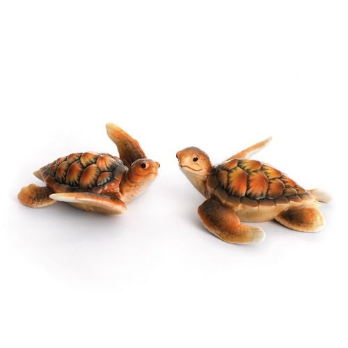 Franz Porcelain Turtle Figurine (Set2) FZ01858