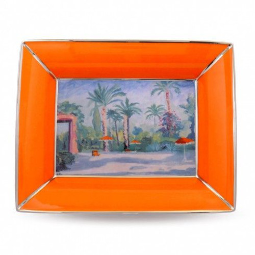 Halcyon Days Ch Garden At Mamounia Hotel Trinket Tray BCCGM01TTP