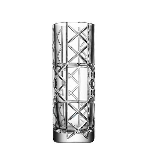 Orrefors Explicit Vase Checks Small
