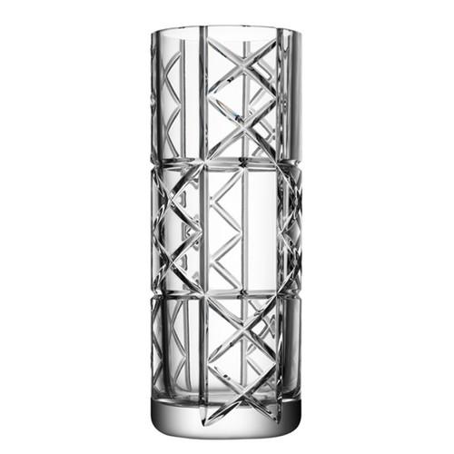 Orrefors Explicit Vase Checks Large