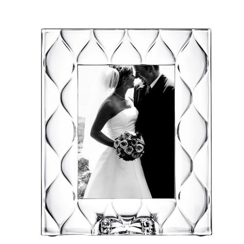 Orrefors Frames Diamond Picture Frame 5 X 7 Inch