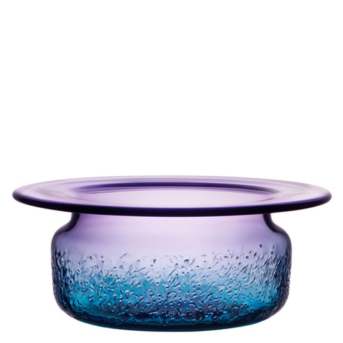 Kosta Boda Aurora Bowl Blue/Violet