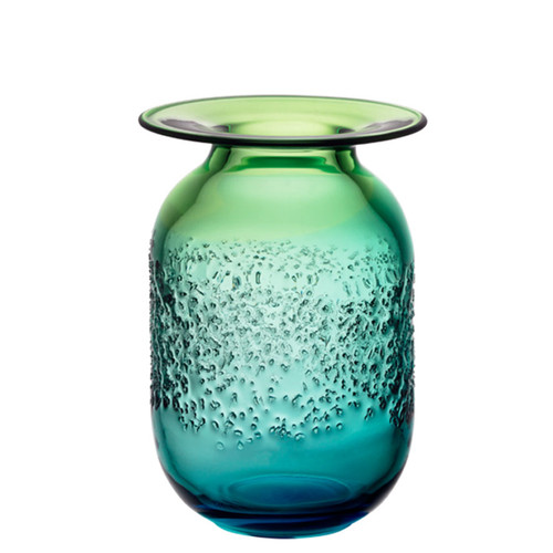 Kosta Boda Aurora Vase Blue/Green Medium