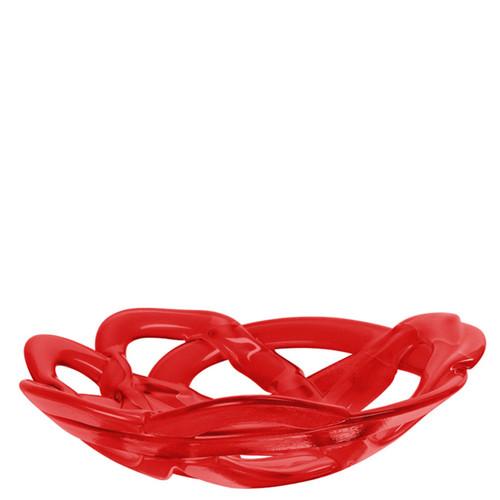 Kosta Boda Basket Bowl Red Large